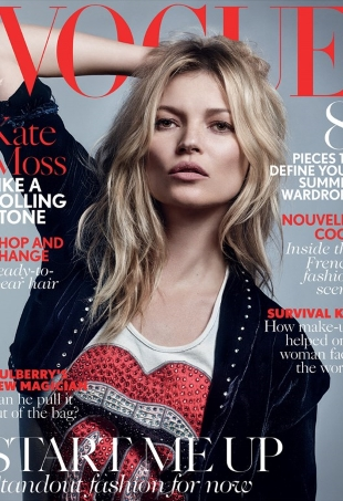 UK Vogue May 2016 : Kate Moss by Craig McDean
