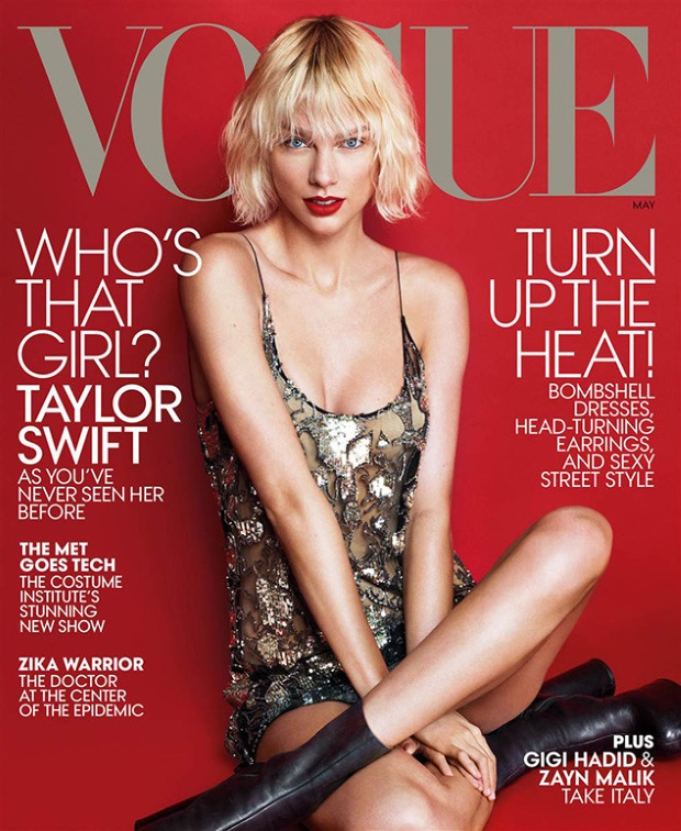 US Vogue May 2016 : Taylor Swift by Mert Alas & Marcus Piggott
