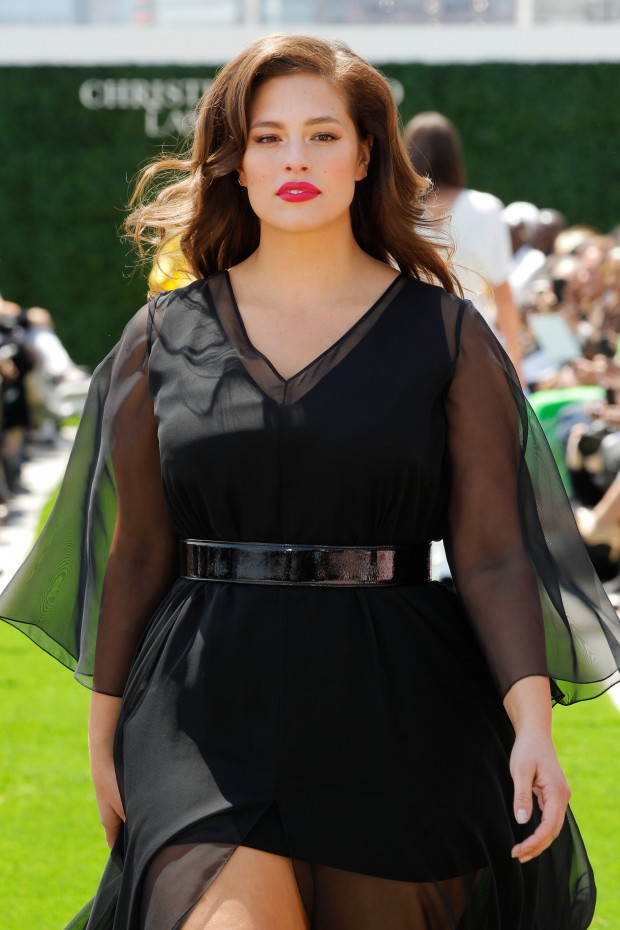 Christian Siriano x Lane Bryant Runway Show, model Ashley Graham