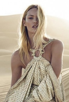 Candice Swanepoel Delights in Givenchy's Dahlia Divin Le Nectar Ad Campaign (Forum Buzz)