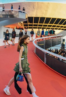 Louis Vuitton's Resort 2017 Cruise to Rio Was All About Summery Athleisure Wear