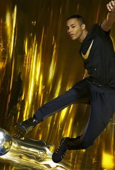 Olivier Rousteing's New Nike Collab Is Most Definitely #Goals