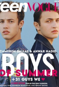 Anwar Hadid and Cameron Dallas Underwhelm on Teen Vogue's New Cover (Forum Buzz)