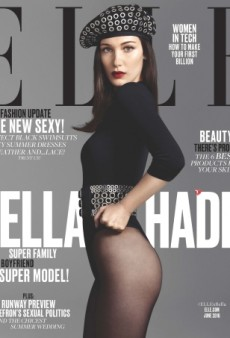 Bella Hadid Lands a Well-Deserved (and Gorgeous!) Cover of ELLE (Forum Buzz)