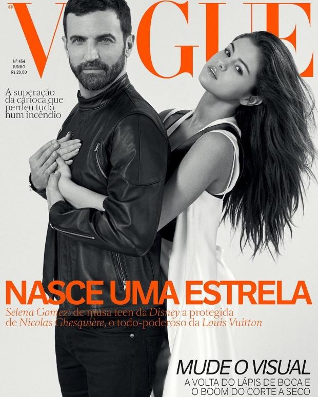 Vogue Brazil June 2016 : Selena Gomez & Nicolas Ghesquière by Bruce Weber