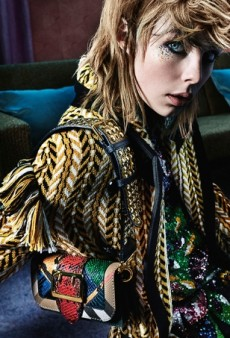 Mario Testino's New Burberry Campaign Starring Edie Campbell Is a Winner (Forum Buzz)