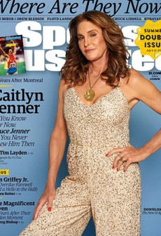Caitlyn Jenner Slays on the Cover of Sports Illustrated Wearing Her Olympic Gold Medal