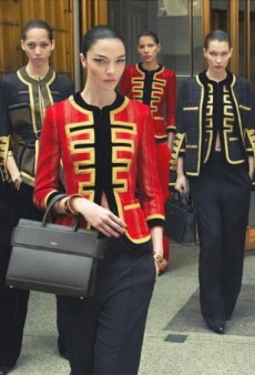 Givenchy Casts an Army of Models Including Bella Hadid for Its Fall 2016 Ad Campaign (Forum Buzz)