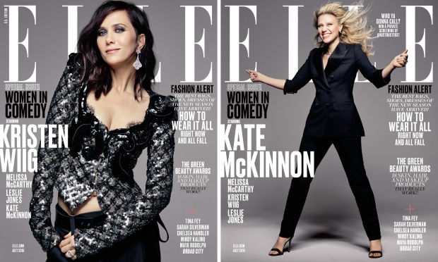 US Elle July 2016 : The Women In Comedy Issue by Mark Seliger