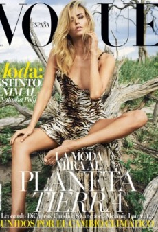 Natasha Poly Serves 'Flintstone Realness' on Vogue Spain's July Cover (Forum Buzz)