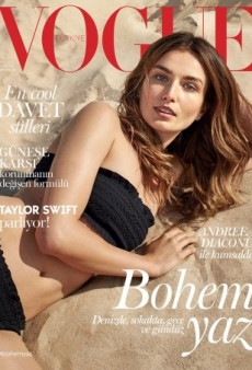 Vogue Turkey and Andreea Diaconu Hit the Beach for June — But Is It Interesting Enough for Vogue? (Forum Buzz)