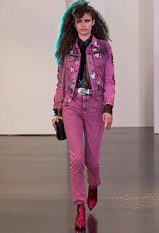 80s trends ran amok at Marc Jacobs Resort 2017.