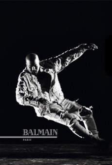 Kanye West and Joan Smalls Star in Balmain's Dynamic Fall 2016 Campaign (Forum Buzz)