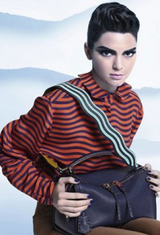 Kendall Jenner Nails Elvis Impersonation in Fendi's Fall 2016 Ad Campaign
