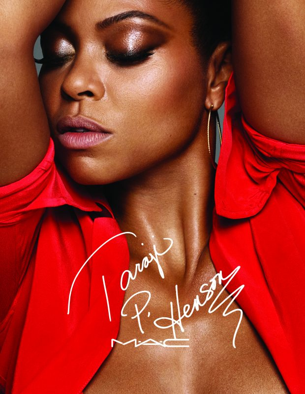 Taraji P. Henson and M.A.C Cosmetics teamed up to create a fierce six-product line, #MACTaraji.