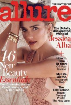Jessica Alba Kind of Looks Like Jennifer Garner on Allure's Dreamy September Cover (Forum Buzz)