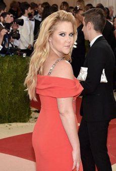 Amy Schumer Said the Met Gala Felt Like a Punishment (Even Though She Got to Meet Beyoncé)