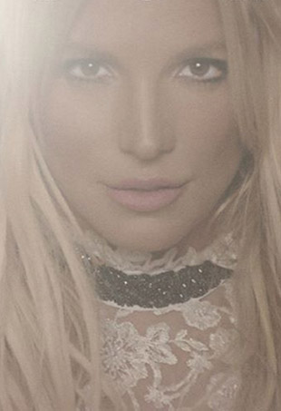 The cover art for Britney Spears' latest album, Glory.