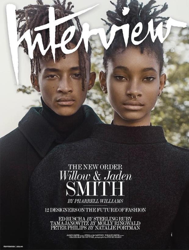 Interview September 2016 : Willow & Jaden Smith by Steven Klein