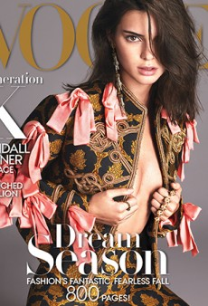 Vogue's Drab Layout Does Kendall Jenner No Favors on Its September Cover (Forum Buzz)