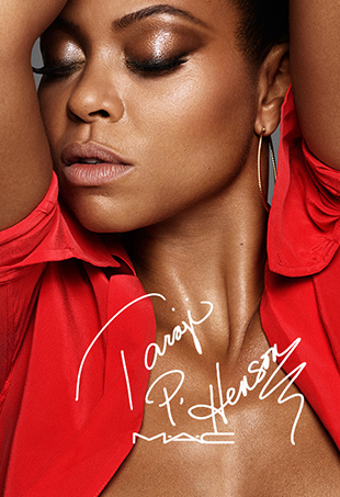 Taraji P. Henson and M.A.C Cosmetics' six-product collaboration, #MACTaraji, will be available online September 6th.