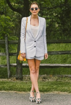 How Celebs Wear Shorts Suits (and You Can Too)