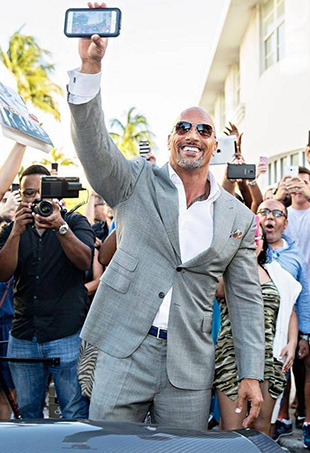 "Dwayne ""The Rock"" Johnson is currently the world's highest-paid actor."