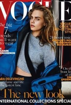 Cara Delevingne's September Cover of UK Vogue Might Be Her Best Ever (Forum Buzz)