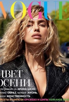 Irina Shayk Goes Blonde for Vogue Russia's Gorgeous September Cover (Forum Buzz)