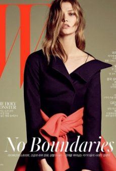 Karlie Kloss Unwittingly Morphs Into Kate Moss on W Korea's September Cover (Forum Buzz)