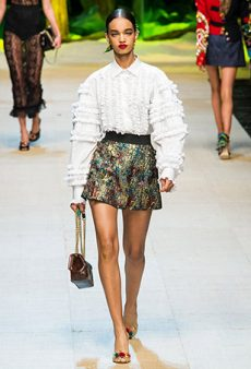Dolce & Gabbana Spring 2017 Runway