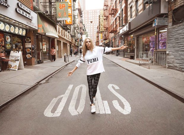 "Cara Delevingne stars in Puma's Rihanna-helmed ""Do You"" campaign."