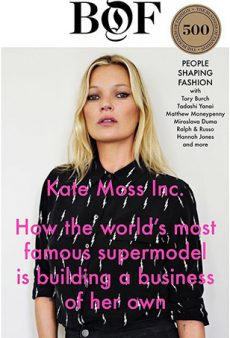 Kate Moss Now Has Her Own Talent Agency (and Instagram!)