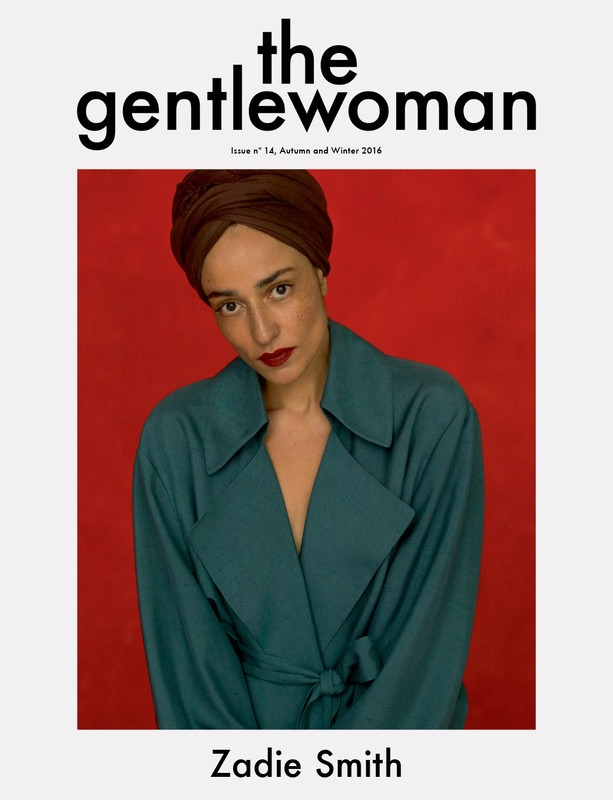 The Gentlewoman #14 Fall/Winter 2016 : Zadie Smith by Inez & Vinoodh