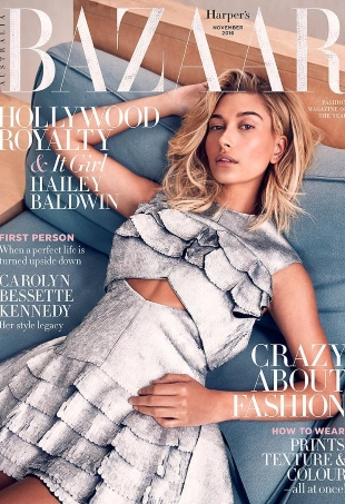 Harper's Bazaar Australia November 2016 : Hailey Baldwin by Darren McDonald