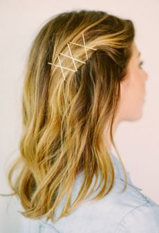 11 Unexpected (and Gorgeous!) Ways to Wear Bobby Pins