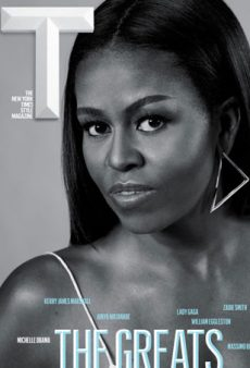 "Michelle Obama and Lady Gaga Slay on the Covers of T Magazine's ""The Greats"" Issue"