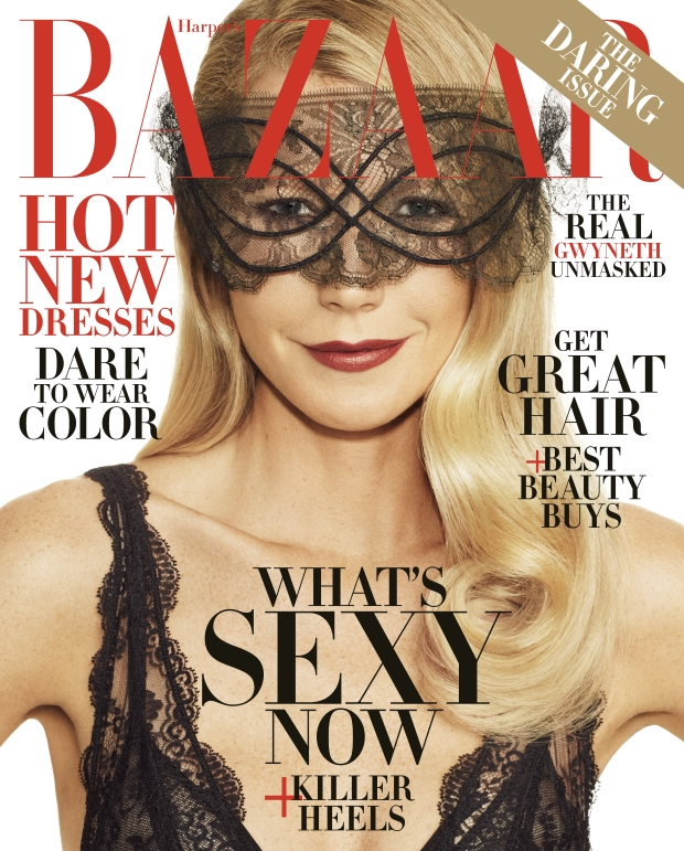 US Harper's Bazaar November 2016 : Gwyneth Paltrow by Alexi Lubomirski