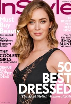 Emily Blunts Stars on InStyle's Tacky, Dated November Cover (Forum Buzz)
