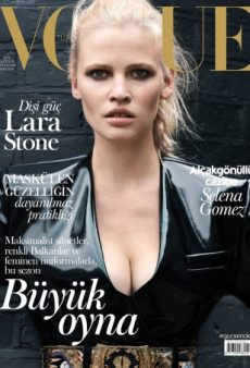 Lara Stone May Have Just Given Vogue Turkey Its Best Cover in a Very Long Time (Forum Buzz)