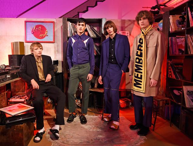 Stella McCartney Spring 2017 menswear show at Abbey Road Studios