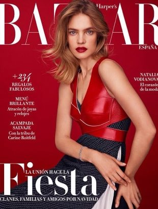 Harper's Bazaar España December 2016 : Natalia Vodianova by Thomas Whiteside