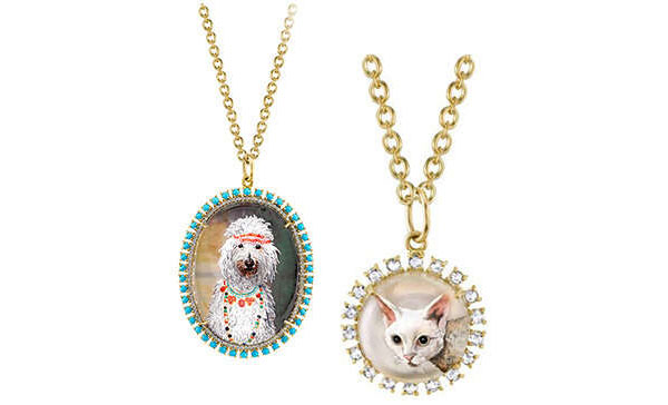 Irene Neuwirth Custom Cat Pendant, $6,850; Image: Goop