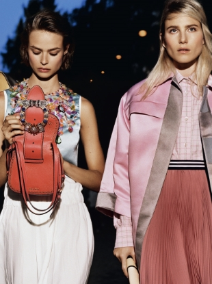Miu Miu Resort 2017 by Alasdair McLellan
