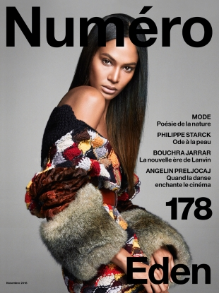 Numéro #178 November 2016 : Joan Smalls by Greg Kadel