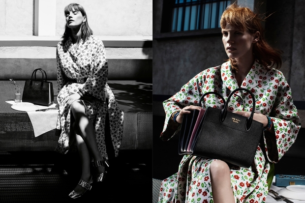 Prada Resort 2017 : Jessica Chastain by Willy Vanderperre