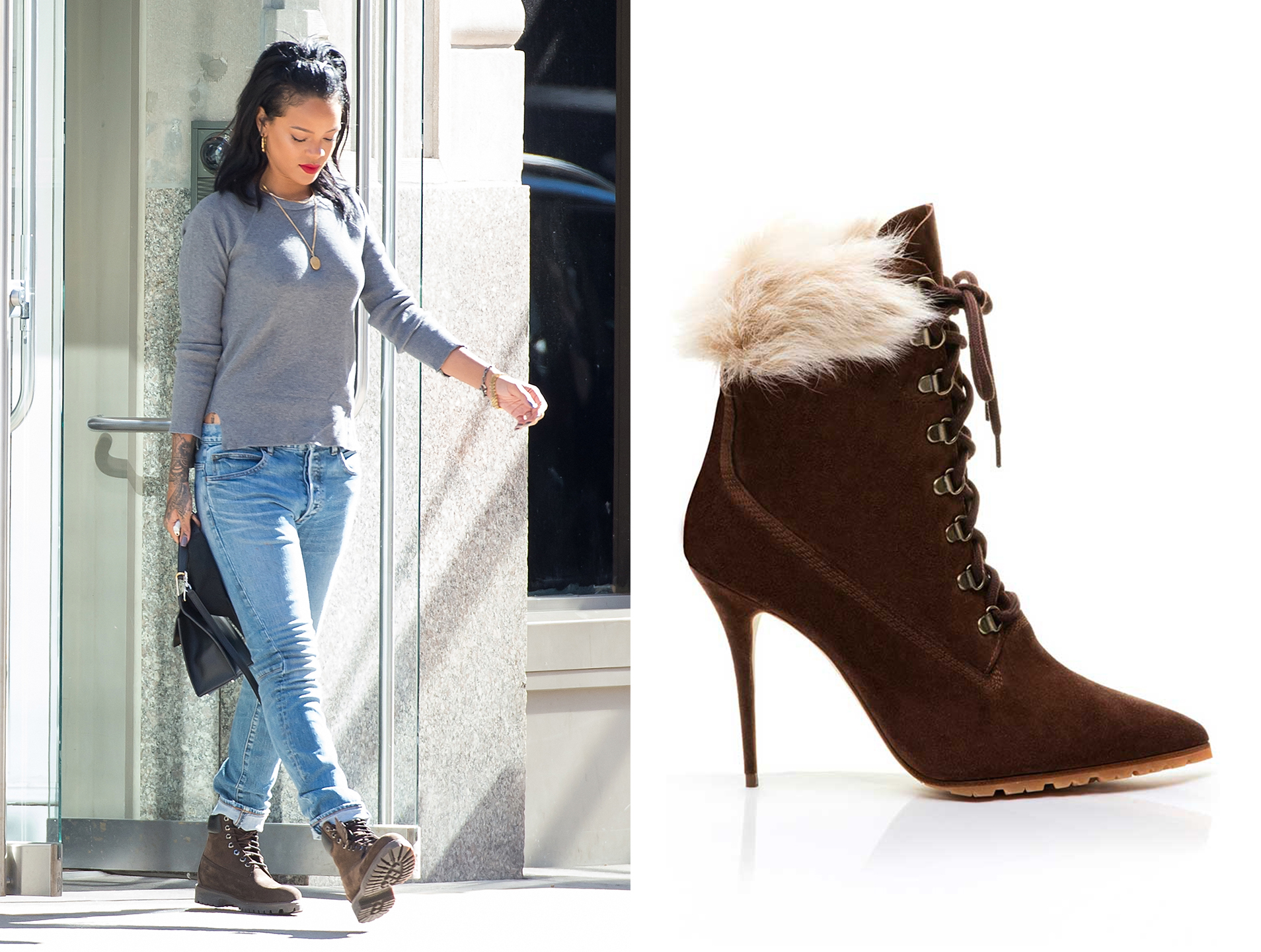Rihanna X Manolo Blahniks Newest Boot Collection Is An