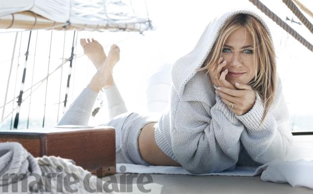 US Marie Claire December 2016 : Jennifer Aniston by Michelangelo di Battista