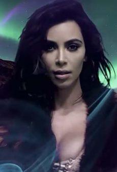 Watch: Kim Kardashian Reenters the Fashion World for LOVE