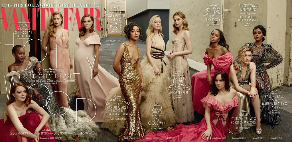 Diverse Women Cover Vanity Fair March 2017 The Hollywood